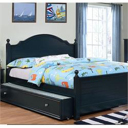 BLUE TWIN BED SET CM7158BL Image