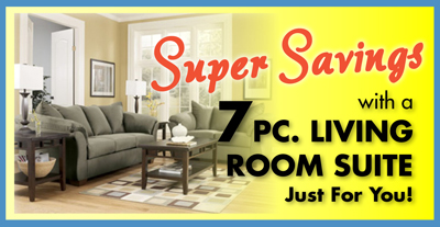 super savings on living room groups